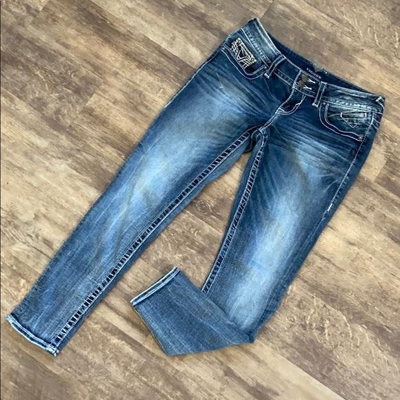 Vigoss the Chelsea skinny jeans size 3/4